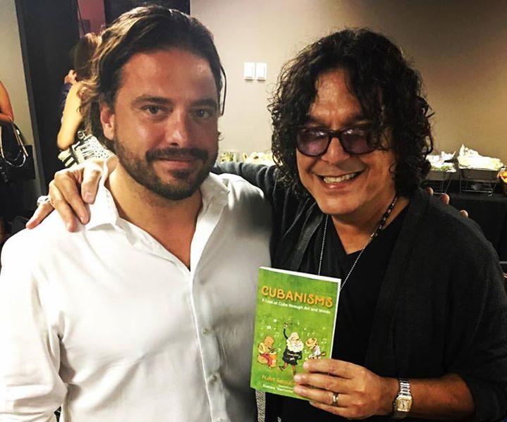 Pedro Menocal and Rudy Perez at La Musa Awards rehearsals