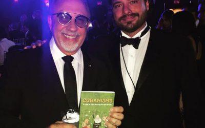 Emilio Estefan and Pedro Menocal at La Musa Awards