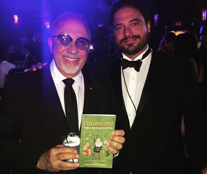 Emilio Estefan and Pedro Menocal at La Musa Awards