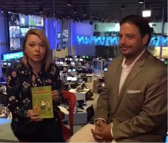 Pedro interviewed on Univision for Al Punto Florida!