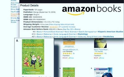 Cubanisms Book makes TOP 10 Amazon Best Sellers List
