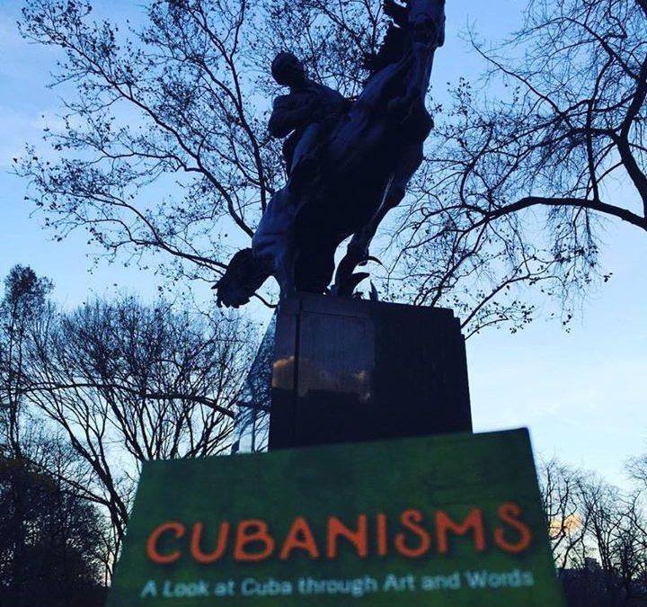 José Marti statute in Central Park